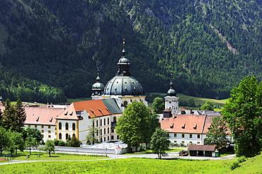 Benedictine monastery, Ettal Abbey, district of Garmisch-Partenkirchen, Bavaria, Germany, Europe