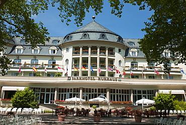 Spa Hotel, Park Hotel, Bad Kreuznach health resort, Rhineland-Palatinate, Germany, Europe