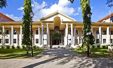 National Library of the Seychelles, Francis Rachel Street, capital city Victoria, Mahe Island, Seychelles, Indian Ocean, Africa