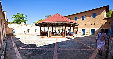 Prison Island, formerly the site where slaves were held prisoner before their shipping, Zanzibar, Tanzania, Africa