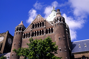 Sint-Bavo Cathedral, cathedral on the Leidesvaart, Haarlem, province of North Holland, Netherlands, Benelux, Europe