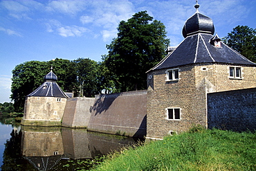 Spanjaardsgat Fortress, part of the medieval city wall, Breda, Province of North Brabant, Noord-Brabant, Netherlands, Benelux, Europe