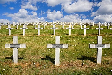 War graves, memorial park, Alsace, France
