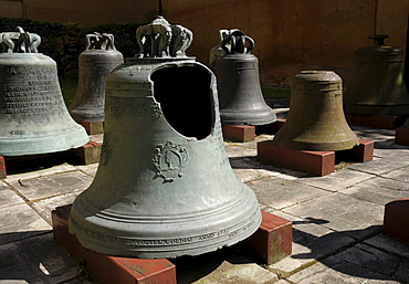 Bells, Glockenmuseum, bell museum, Apolda, Thuringia, Germany, Europe