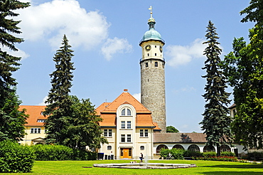 Neideck Castle, Arnstadt, Thuringia, Germany, Europe