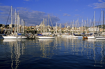 Harbour of Cannes, France, Europe