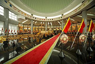 Royal Treasury, Royal Regalia Museum in the capital city, Bandar Seri Begawan, Brunei, Asia