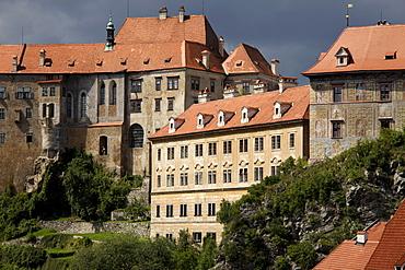 Castle, &esk˝ Krumlov, Czech Republic, Europe