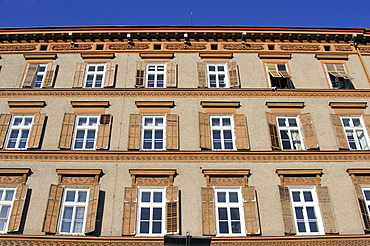 Housefront, Kaiser Franz Josef Kai, Graz, Styria, Austria, Europe