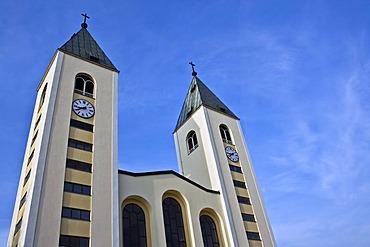 Church in the sanctuary Medjugorje, Bosnia and Herzegovina, Europe