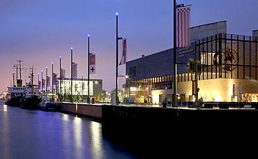 Deutsches Auswandererhaus, German Emigration Center, Alter Hafen harbour, Bremerhaven, Bremen, Germany, Europe