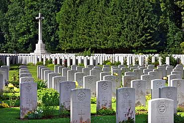Durnbach War Cemetery, 2960 soldiers killed in action, World War 2, Durnbach, Upper Bavaria, Bavaria, Germany, Europe