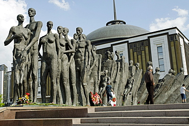 Monument to victims of the concentration camps during the Second World War, Poklonnaya Hill, Moscow, Russia