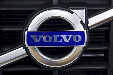 Volvo emblem on a car