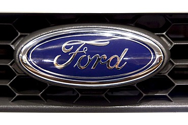 Ford emblem on a car