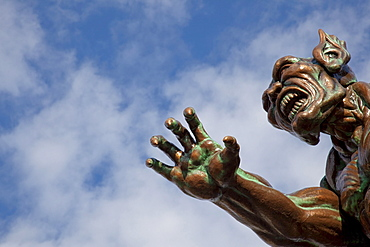 Monster in the amusement park, Prater, Vienna, Austria, Europe