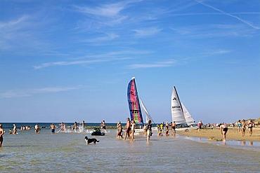 Beach, Westerland, Sylt, North Frisia, Schleswig-Holstein, Germany, Europe