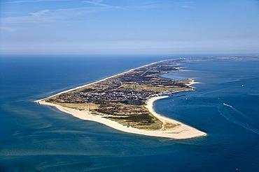 Aerial photograph, Odde, Hoernum, Sylt, North Frisia, Schleswig-Holstein, Germany, Europe