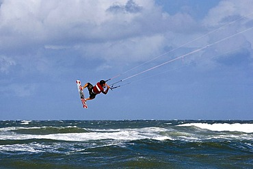 Kitesurf Trophy, Westerland, Sylt, North Frisia, Schleswig-Holstein, Germany, Europe