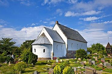 St. Martin Church, Morsum, Sylt, North Frisia, Schleswig-Holstein, Germany, Europe