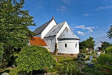 St. Martin Morsum church, Sylt, North Frisia, Schleswig-Holstein, Germany, Europe
