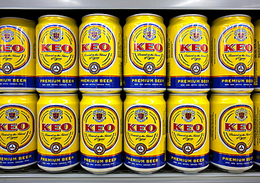 KEO beer, most important domestic beer in Cyprus