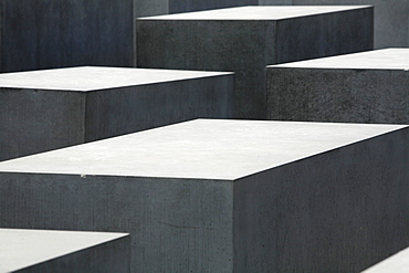 Geometric patterns of the Memorial to the Murdered Jews of Europe, Holocaust Memorial, Berlin, Germany, Europe