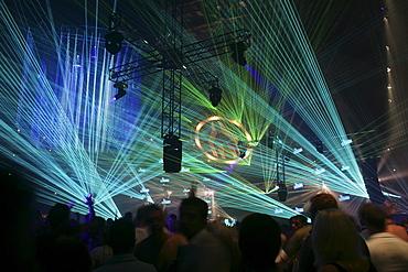 Mayday Techno Festival, Westfalenhalle concert venue, Dortmund, North Rhine-Westphalia, Germany, Europe