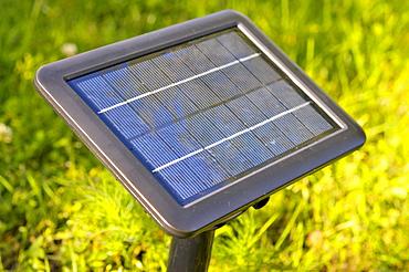 Solar module in the garden
