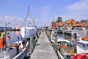 Baltic Sea port Maasholm, Schlei estuary, Schleswig-Holstein, northern Germany, Germany, Europe
