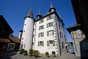 Turmhof, museum of local history, Steckborn, Untersee, Lake Constance, Switzerland, Europe