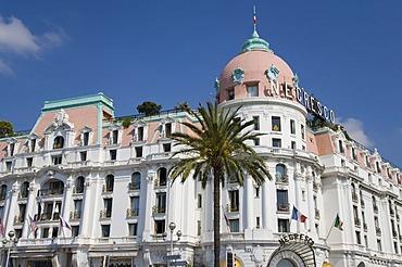 Negresco Hotel, luxury hotel, Promenade des Anglais, Nice, Cote d'Azur, France