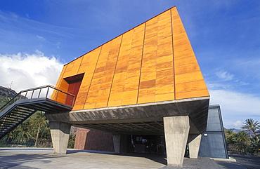 El Centro de Visitantes, Excmo Cabildo Insular, visitor center, modern architecture, San Sebastian, La Gomera, Canary Islands, Spain, Europe