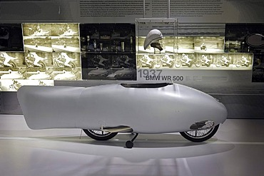 BMW Museum, record machine from 1937, Munich, Bavaria, Germany, Europe