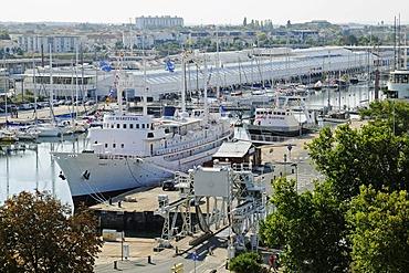 Museum Maritime, maritime museum, museum ship, harbour, La Rochelle, Poitou Charentes, France, Europe