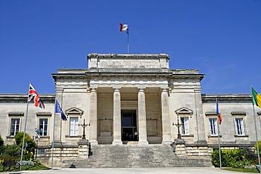 Law courts, Saintes, Poitou Charentes, France, Europe