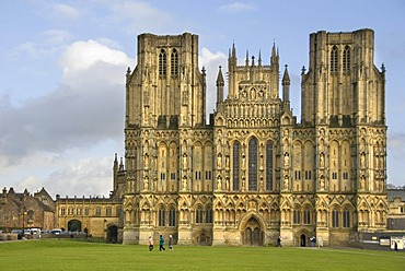 St. Andrewís Cathedral, Wells, Somerset, England, Great Britain, Europe