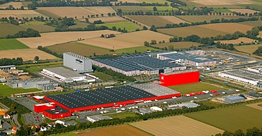 Kik central warehouse, Boenen, North Rhine-Westphalia, Germany, Europe