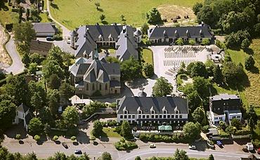 Aerial photo, Stiepel cistercian monastery, Bochum, Ruhr area, North Rhine-Westphalia, Germany, Europe