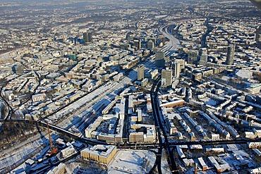 Aerial photo, Essen, Ruhrgebiet, North Rhine-Westphalia, Germany, Europe