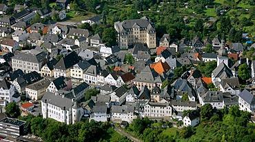 Aerial photo, administrative court Arnsberg, Hochsauerlandkreis, Sauerland, North Rhine-Westphalia, Germany, Europe