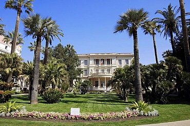 Museum Musee Massena, Nice, Alpes-Maritimes, Provence-Alpes-Cote d'Azur, Southern France, France, Europe