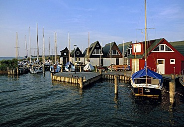 Althagen Harbour, Ahrenshoop, Mecklenburg West Pomerania, Germany