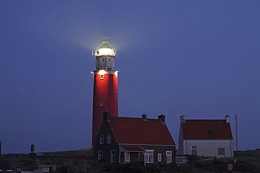 Lighthouse in the morning, Texel island, Holland, Netherlands, Europe