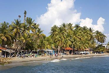 Beach of Pampatar, Margarita Island, Caribbean, Venezuela, South America