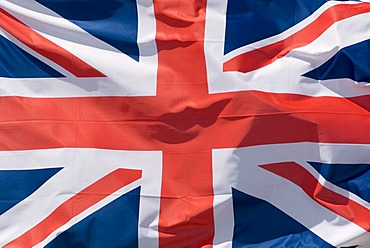 Fluttering flag, Great Britain