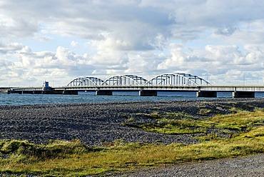 Oddesund Bridge near Struer, Jutland, Denmark, Europe