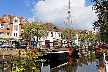 Fleth of Buxtehude, Buxtehude, Lower Saxony, Germany, Europe