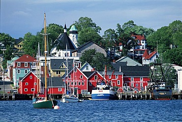 Lunenburg Harbour, UNESCO World Heritage Site, Nova Scotia, Canada, North America