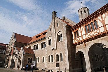 Dankwarderode Castle, Braunschweig, Lower Saxony, Germany, Europe